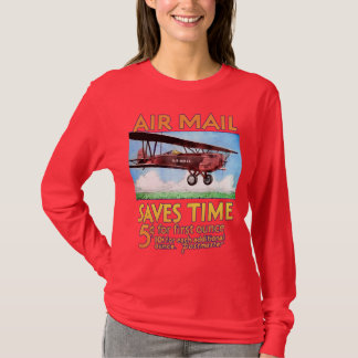 Airmail Saves Time T-Shirt