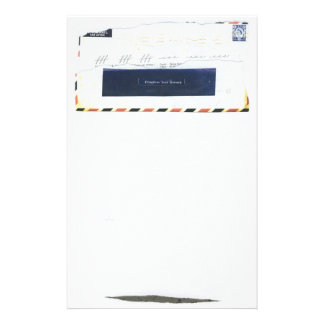 Airmail Test Record Stationery