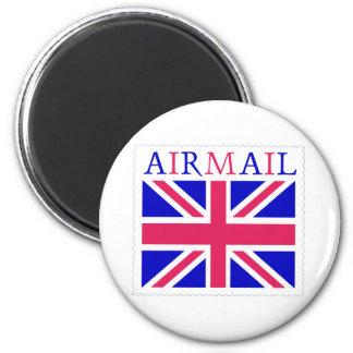 Airmail Union Jack Flag Magnets