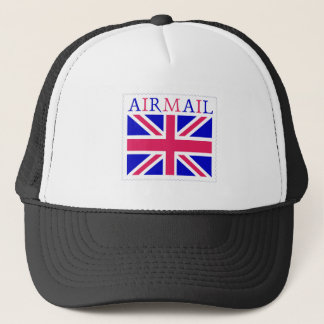 Airmail Union Jack Flag Trucker Hat