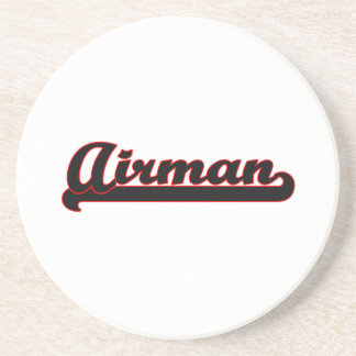 Airman Classic Job Design Coaster