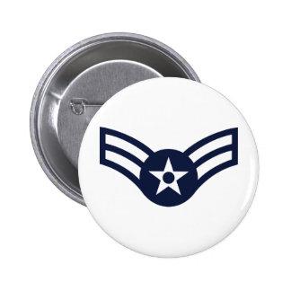 Airman First Class E-3 Pinback Button