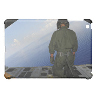 Airman observes the waters of the Gulf of Mexic iPad Mini Cover