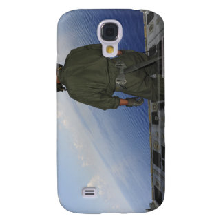 Airman observes the waters of the Gulf of Mexic Samsung Galaxy S4 Case