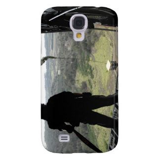 Airman watches a practice bundle fall galaxy s4 case