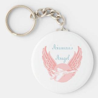 Airman's Angel Keychain