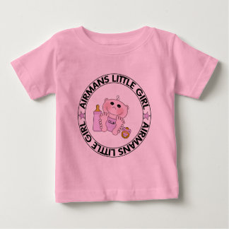 Airmans Little Girl Baby T-Shirt
