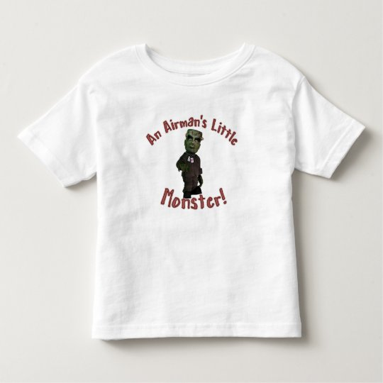 Airman's Little Monster Toddler T-shirt