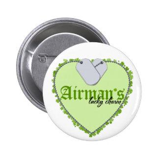 Airman's Lucky Charm Button