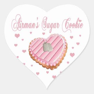 Airman's Sugar Cookie Stickers