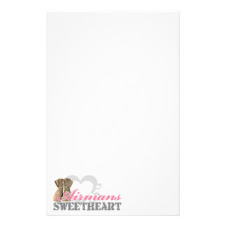 Airmans Sweetheart Stationery