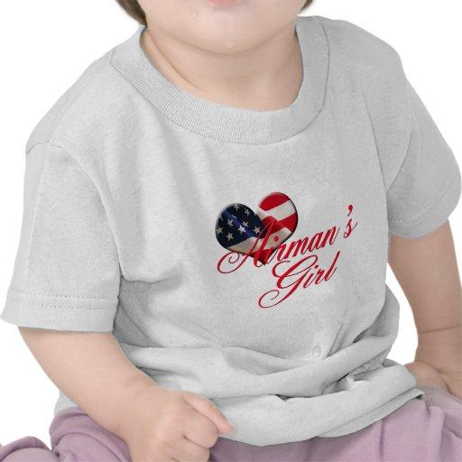 airmen' chica de s camisetas