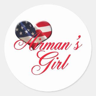 airmen's girl sticker
