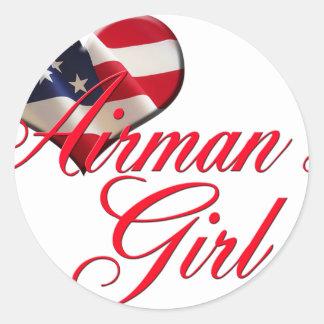 airmen's girl stickers