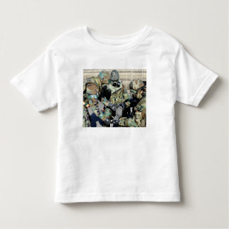 Airmen assist a Republic of Korea Army soldier Toddler T-shirt