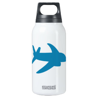 Airplaine Silhoutte Classic Thermos Bottle