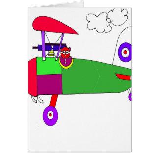 airplane 300dpi  card