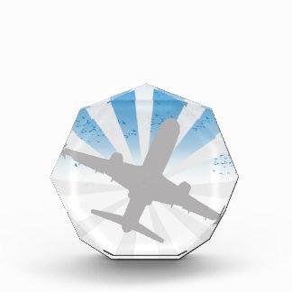 Airplane Acrylic Award
