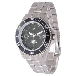 airplane altimeter watch