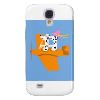 Airplane and Dalmatians Galaxy S4 Cover