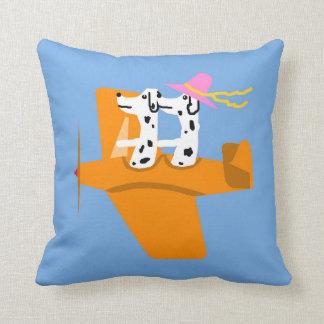 Airplane and Dalmatians Pillows