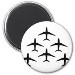 airplane armada 2 inch round magnet