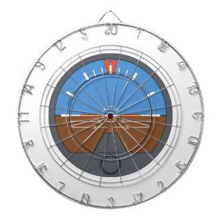 Airplane Attitude Indicator Dart Board