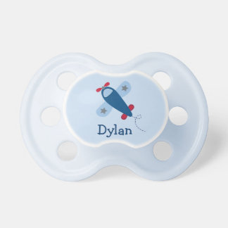 Airplane Baby Boy Pacifier