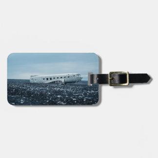 airplane bag tag