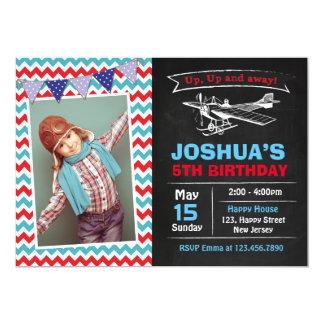 Airplane Birthday Invitation