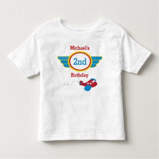 Airplane Birthday T-shirt Toddler Kid
