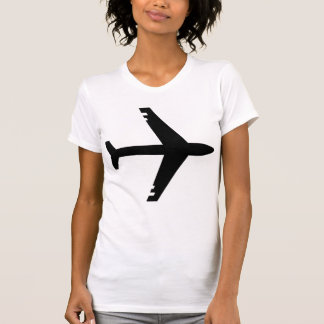 Airplane Black T-Shirt