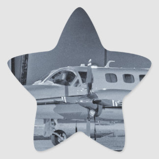 "Airplane ""black white"" photo picture HDR T-Shirt Sticker"