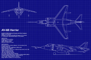aircraft blueprints gifts on zazzle