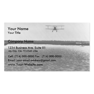 Airplane Business Card Templates