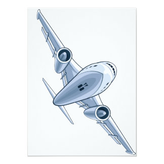Airplane Card