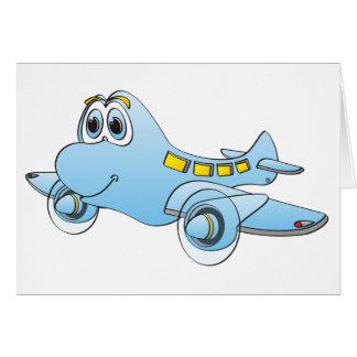 Airplane Cartoon Cards
