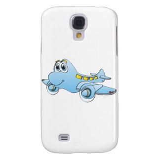 Airplane Cartoon Galaxy S4 Case