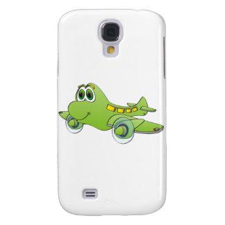 Airplane Cartoon Galaxy S4 Cases