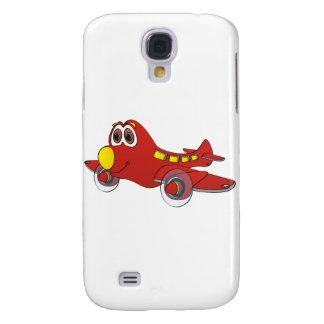 Airplane Cartoon Galaxy S4 Cover