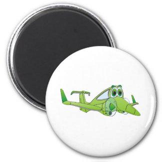 Airplane Cartoon Magnet