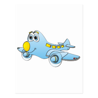 Airplane Cartoon Postcards