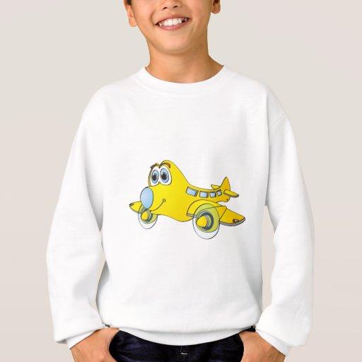 Airplane Cartoon Sweatshirt