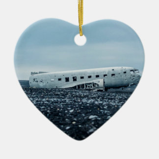 airplane ceramic ornament