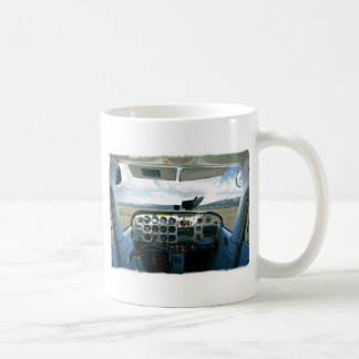 Airplane Cockpit Coffee Mugs