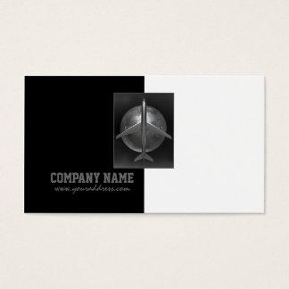 Airplane Company Metal Airbus World Travel Card
