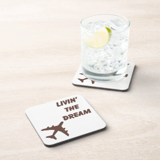 Airplane Cork Coaster