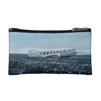 airplane cosmetic bag