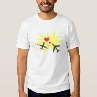 Airplane Crash Love T-Shirt