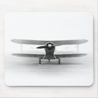 Airplane double-decker Vintage historically Mousepad